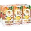 Tropical bebida refrescante mixta de zumo de frutas y leche con vitamina C Pack 6 briks 200 ml Bifrutas Pascual