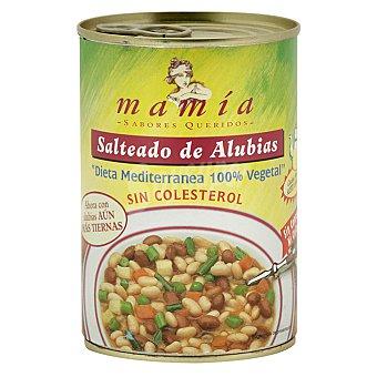 Mamía Salteado de alubias guisadas Lata 400 g