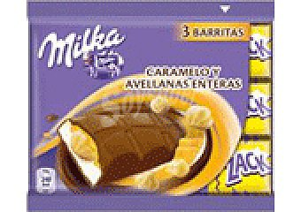 Milka CHOCOLATE CARAMELO PACK 3 UNI