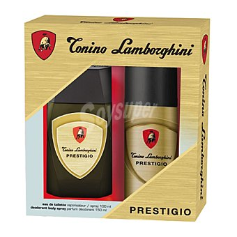 Tonino Lamborghini Estuche colonia Prestigio spray 100 ml. + desodorante spray 150 ml. 1 ud