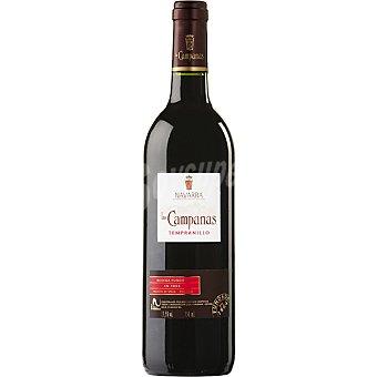 Las Campanas Vino tinto D.O. Navarra Botella 75 cl
