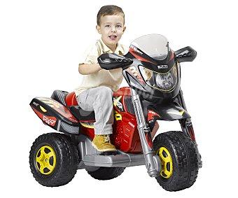 FEBER Trimoto de Batería, Modelo Red Racer 1 Unidad