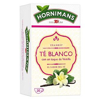 Hornimans Té blanco con un toqué de vainilla en Bolsitas 25 ud