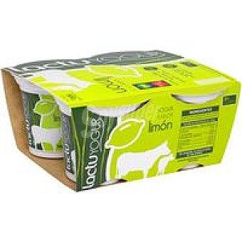 LACTUYOGUR Yogur de limón Pack 4x125 g