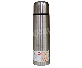 ACTUEL Recipiente isotérmico fabricado en acero inoxidable con 1 litro de capacidad 1 unidad
