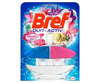 Bref WC Colgador de WC con fragancia bahama noche, limpia y perfuma el WC 1 unidad