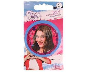 Violetta Disney Parche termoadhesivo para ropa con estampado de Violetta disney