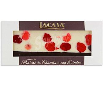 Lacasa Turrón praliné-chocolate-guindas Caja 250 g
