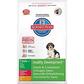 HILL'S SCIENCE PLAN PUPPY MEDIUM Healthy Development Nutrición superior para cachorros de razas medium con pollo Bolsa 7,5 kg