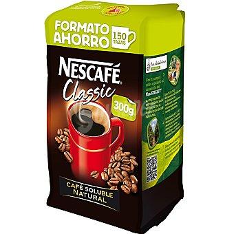 Nescafé café soluble natural Classic (formato ahorro) paquete 300 g