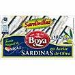 Sardinillas en aceite de oliva Lata 83 g Boya