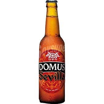 DOMUS Sevilla Cerveza rubia artesanal de Toledo botella 33 cl Botella 33 cl