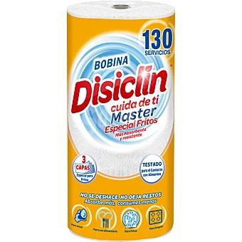 Disiclin Papel de cocina especial fritos 3 capas 130 servicios paquete 1 rollo paquete 1 rollo