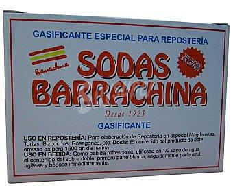 Sodas barrachina Gasificante para bollería 39,5 gr