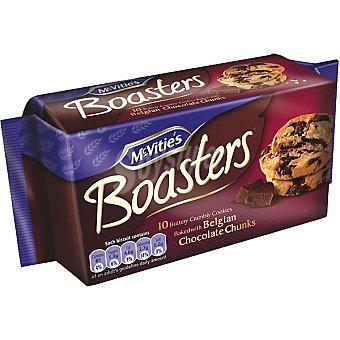 MCVITIE'S BOASTERS Galletas con trozos de chocolate Belga Estuche 180 g