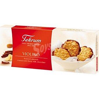 TEKRUM Violino Galletas con chocolate Paquete 100 g