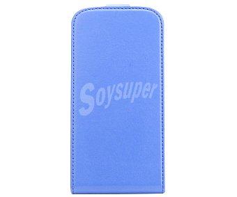 Auchan Funda con Tapa para Samsung Galaxy S4, Azul 4 funda
