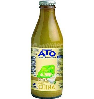 Ato Nata líquida 18% materia grasa para cocinar Botellín 185 ml
