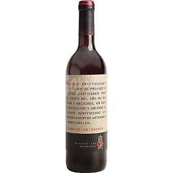 LAGARES Pitarra vino tinto joven de Extremadura  Botella de 75 cl