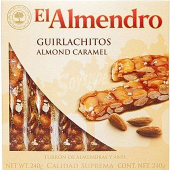 El Almendro Turrón guirlachitos Estuche 240 g