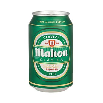 Mahou Cerveza clásica Lata 33 cl