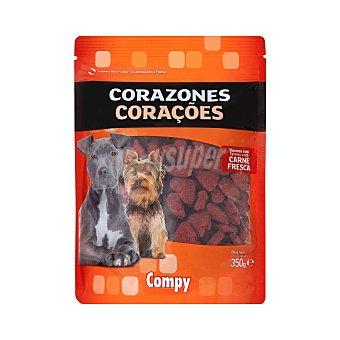 Compy Comida perro snack corazón adulto Paquete 350 g