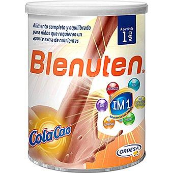 Blenuten Alimento completo y equilibrado que ayuda a suplementar la alimentación de los niños bote 800 g con Cola Cao a partir de 1 año Bote 800 g