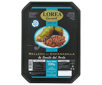 Lorea gourmet Relleno de Empanadilla de Bonito del Norte 200 Gramos