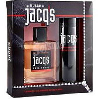 Jacq's Colonia para hombre-desodorante Pack 1 unid