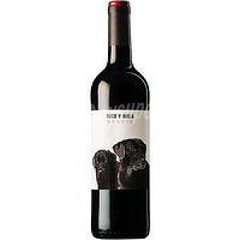 TUCO Y NALA Vino Tinto Castilla León Botella 75 cl