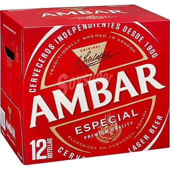Ambar Cerveza especial Pack 12x25 cl
