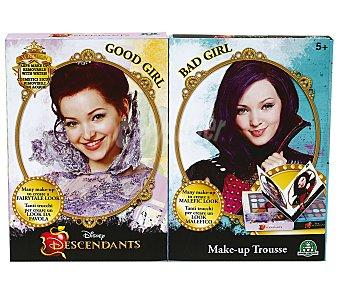 Disney Set doble de maquillajes, Niña Buena o Niña Mala de Los Descendientes, Giochi Preziosi 1 unidad