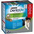 Dentalife snack dental para perros de raza mediana 12-25 kg Caja 24 unidades 28 g Purina