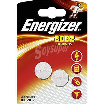 Energizer Pila de litio 3V 2032 blister 2 unidades