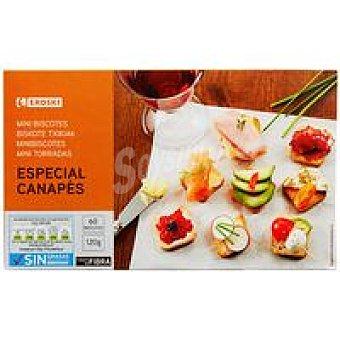 Eroski Mini biscottes Caja 120 g