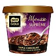 Mousse suprème de chocolate triple chocolate Tarrina 170 g Nestlé Gold