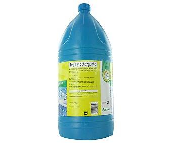 Productos Económicos Alcampo Lejía y detergente 5 litros