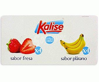 Kalise Yogur Sabor fresa/plátano Yog. Fresa/Plátano8x125g