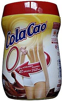 Cola Cao Cacao soluble light 0% azúcares añadidos Bote 325 gramos