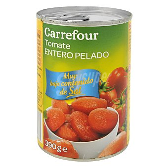 Carrefour Tomates enteros bajo en sal 240 g