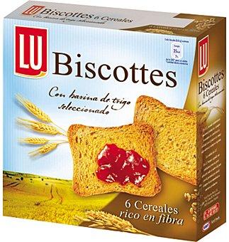 Lu Pan biscote integral 6 cereales 34 UNI