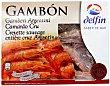 Gambones 8/12 crudos y ultracongelados Caja 400 g Delfín