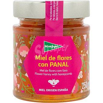 El Corte Inglés Miel de flores española con panal  tarro 250 g