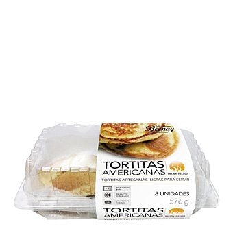 Bornay Tortitas americanas 8 ud.