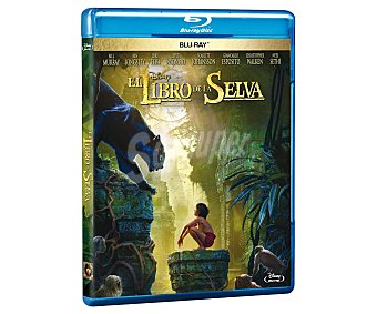 Aventuras El libro de la selva, película Disney en Bluray. Género: Aventuras, fantástico. Edad: TP