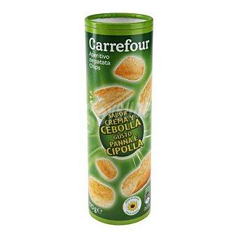 Carrefour Patatas fritas con sabor a crema de cebolla 170 g
