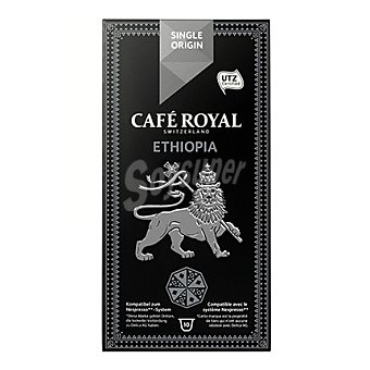 Royal Cápsulas de café original Ethiopia 10 ud