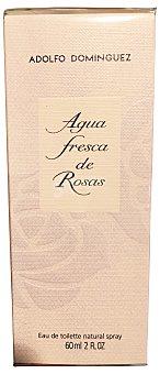 Adolfo Dominguez Eau toilette mujer agua rosas vaporizador Botella de 60 cc