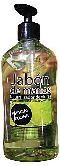 Deliplus Jabón manos líquido cocina neutraliza olores dosificador Botella 500 cc