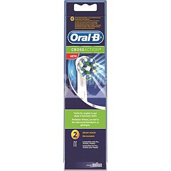 ORAL B Recambio de cepillo dental Cross Action EB-50 blister  2 unidades